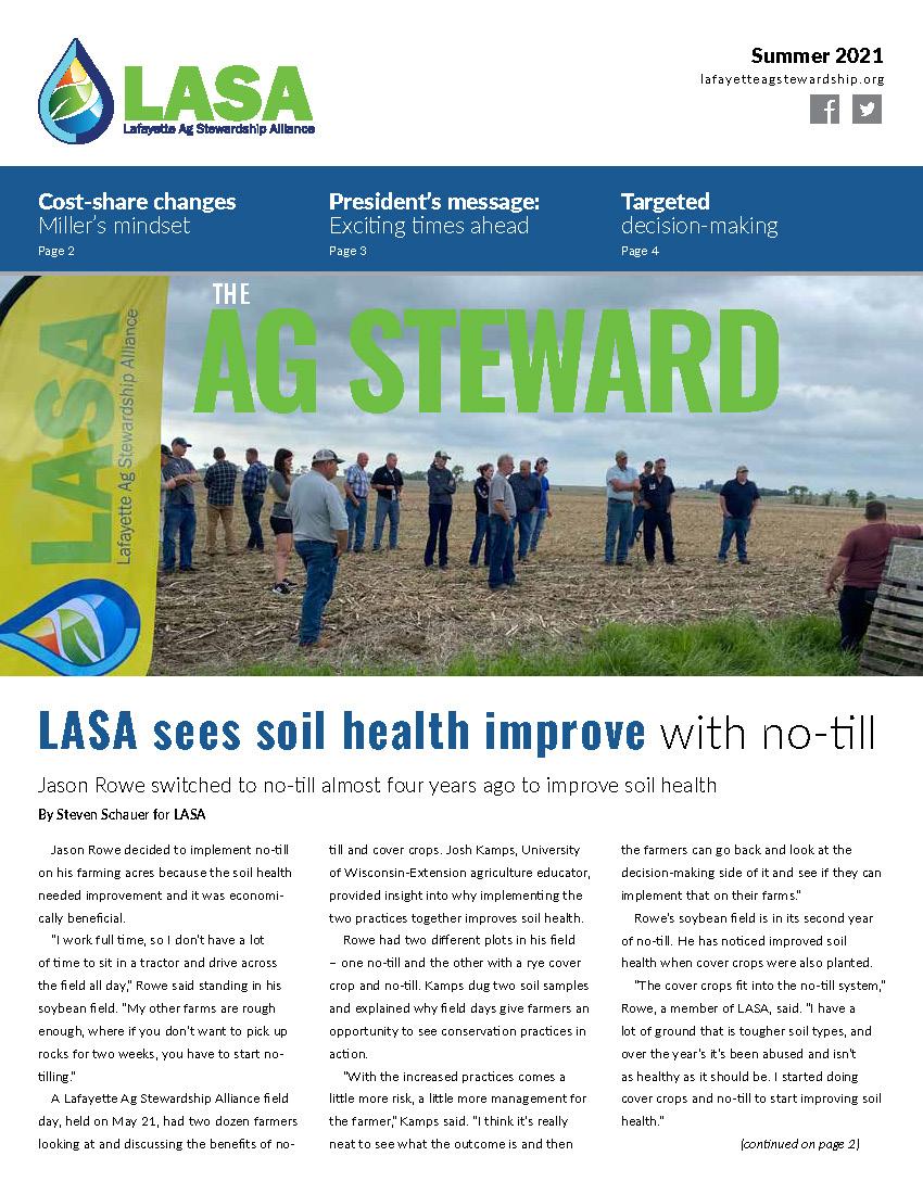 LASA newsletter summer 2021_WEB thumb