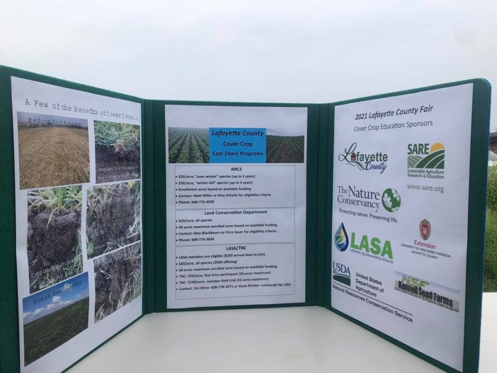 Cover crop examples
